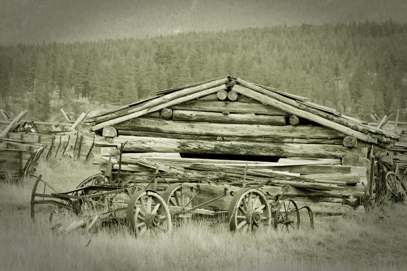 Farm building, Fort Steele, B.C.