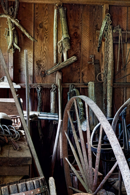 Tool Shed, Historic Buckner Orchard