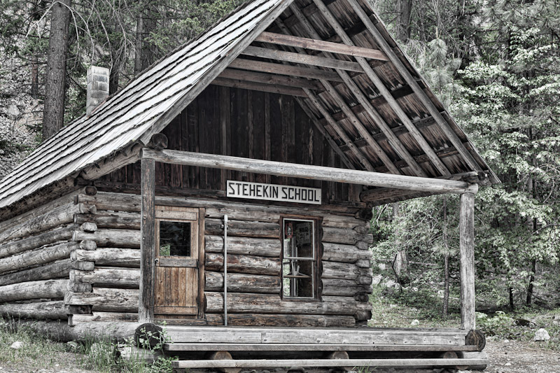 Old Stehekin Schoolhouse