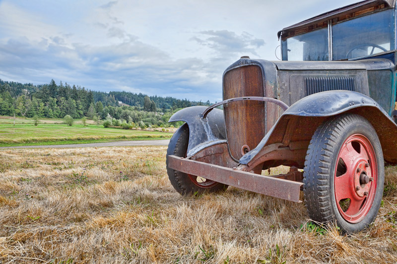 Old Truck, Historic Petersen Farm, Silverdale Washington