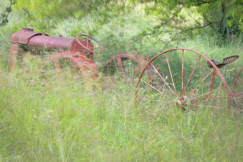 Old Tractor, Seabeck, Washington