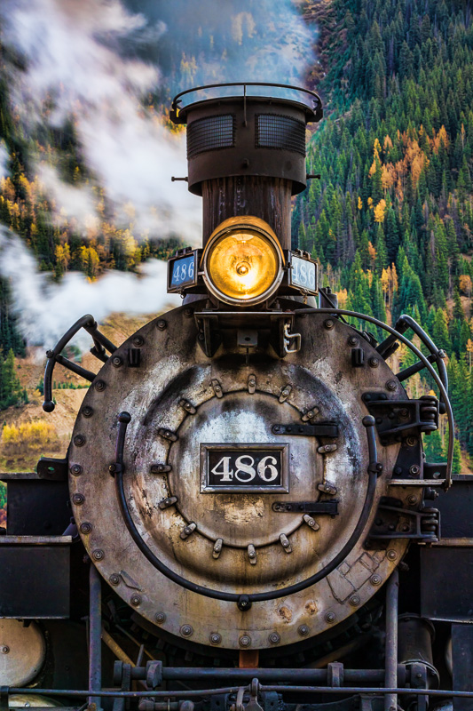 Old Locomotive, Silverton, CO