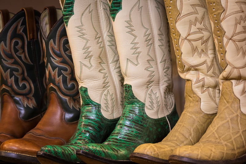 Cowboy boots, Taos, New Mexico