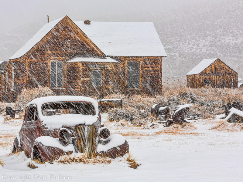 Old Car, Bodie, California