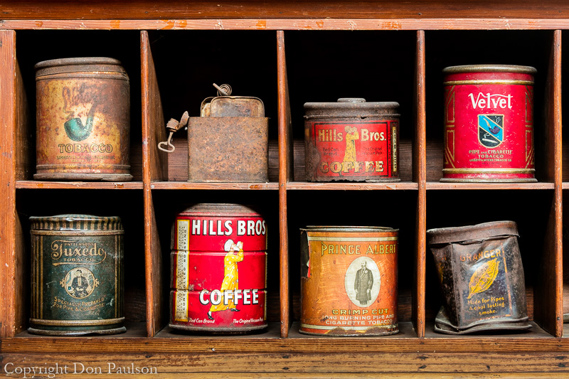 Old cans from the gold rush era - Alaska, Hope