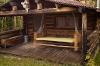 Montana; Pine Butte Nature Conservancy; Log Cabin