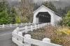 Oregon; Alsea River; Hayden Covered Bridge