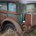 Old Car in Junk Yard