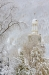 County Court House in a snow storm, Silverton, Colorado