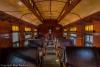 Inside a passenger car - Nevada Northern Railway National Historic Landmark, Ely, Nevada