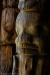 Historic Gitxsan First Nations totem poles, Canada, British Columbia, Gitanyow (formerly Kitwancool)