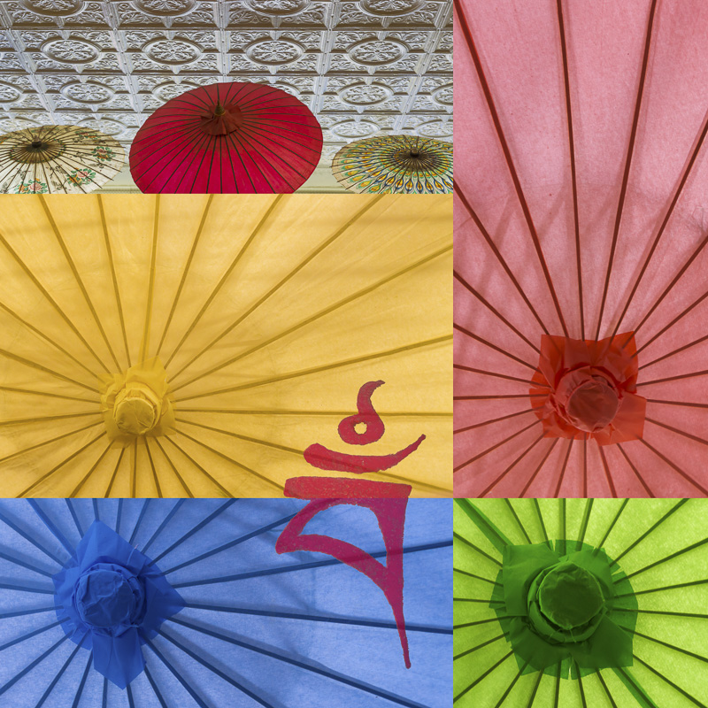 Umbrella Collage #130920