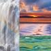 Waterfall & water scenes