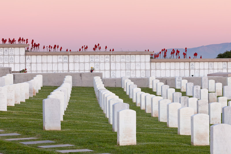 California; Point Loma; Fort Rosecrans Military Cemetery