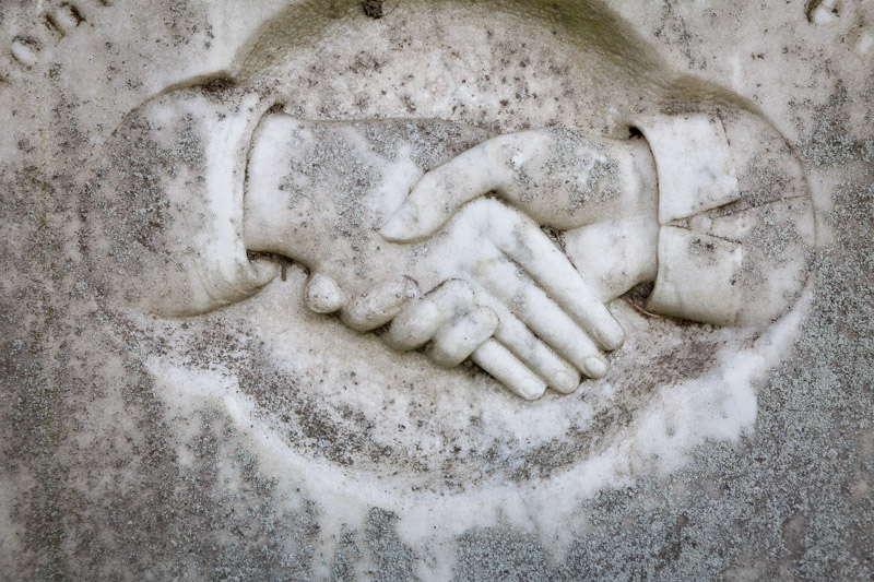 Joined Hands, Sunnyside Cemetery, Whidbey Island, Washington