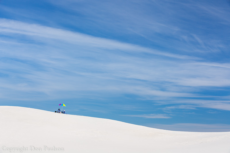 Picnic, White Sands National Monument, New Mexico