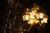 Street Lamp; Christmas Lights