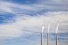 Arizona; Page; Coal-fired power plant; 3 smoke stacks