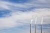 Arizona; Page; Coal-fired power plant; 3 smoke stacks