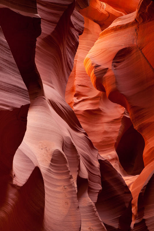 Arizona; Page; Lower Antelope Canyon
