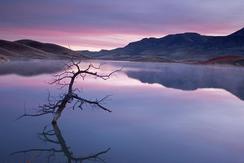 Lake Near Painted Hills, Oregon