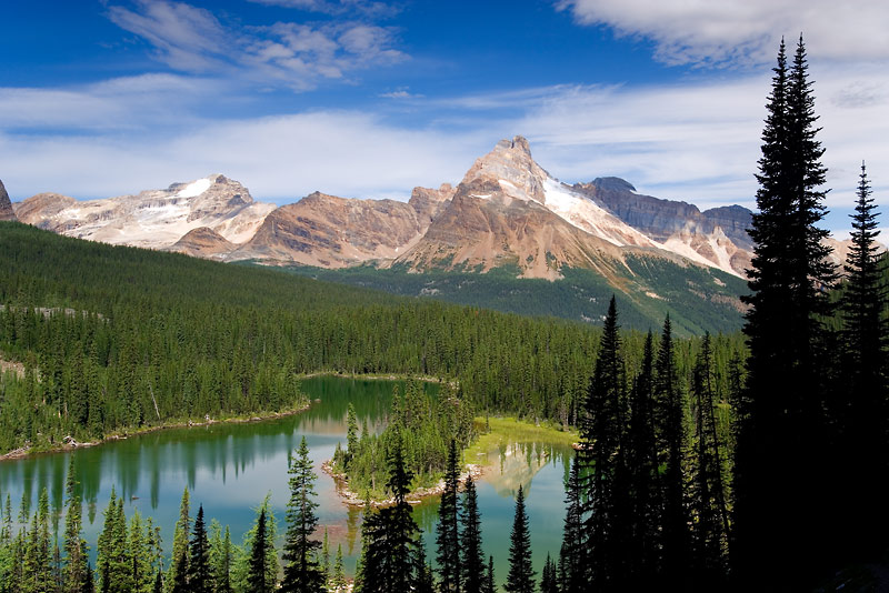British Columbia; Yoho National Park; Opabin Highland, Mary Lake