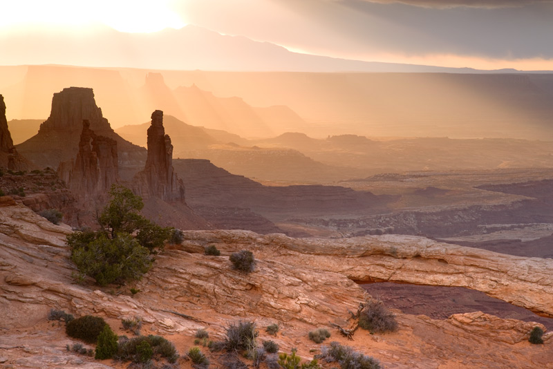 Sunrise Canyonlands National Park, Utah