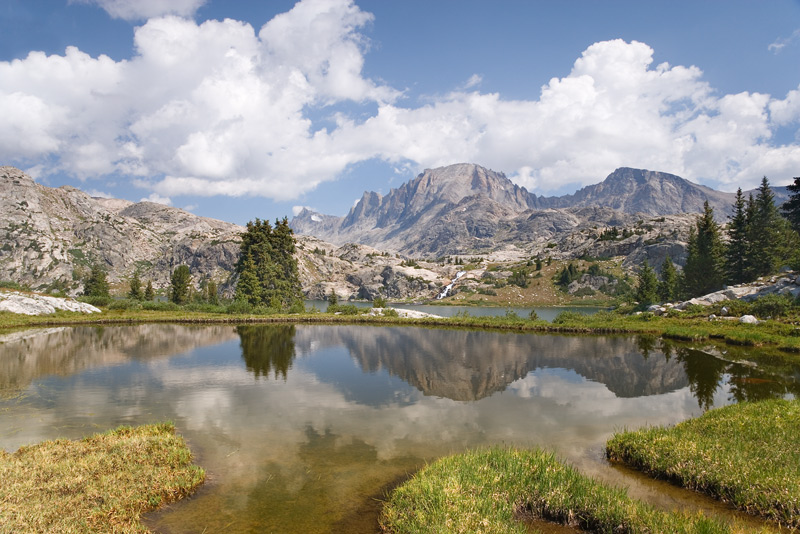Tarn Near Island Lake, Wind River Range, Wyoming