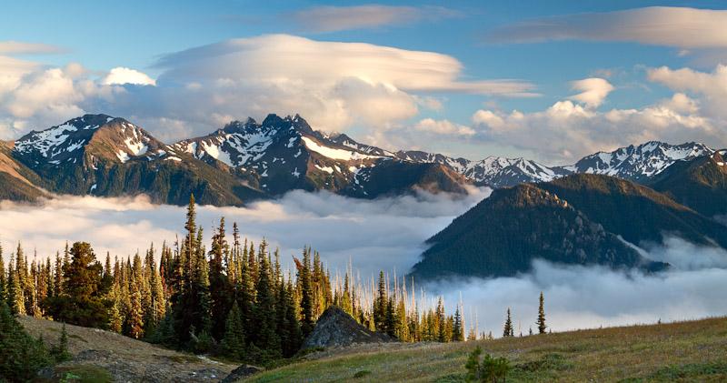 Washington; Olympic National Park; Deer Park area