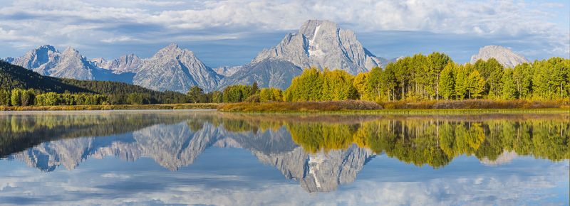 Sunrise, Oxbow Bend on the Snake River, Grand Teton National Park, Wyoming