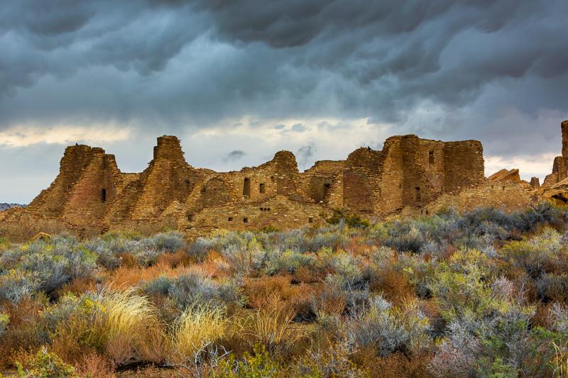 Pueblo Bonito, Chaco Cultural National Historic Park, New Mexico