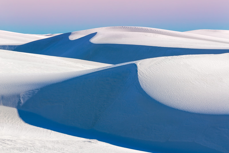 Dune Lines, White Sands National Monument, New Mexico