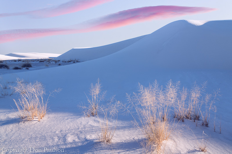 Sunset, White Sands National Monument, New Mexico