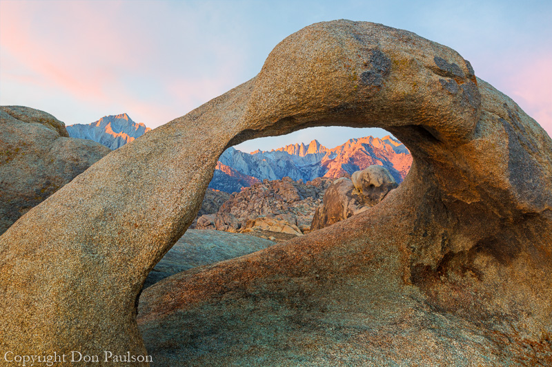 Arch, Alabama Hills, California
