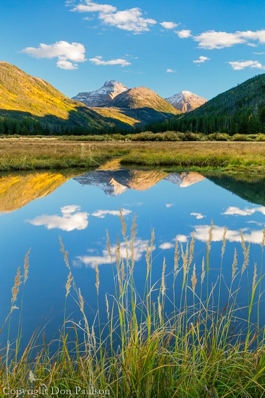 Utah, Wasatch Cache National Forest, Uinta Mountains, Ostler Peak, Christmas Meadows, Stillwater Fork