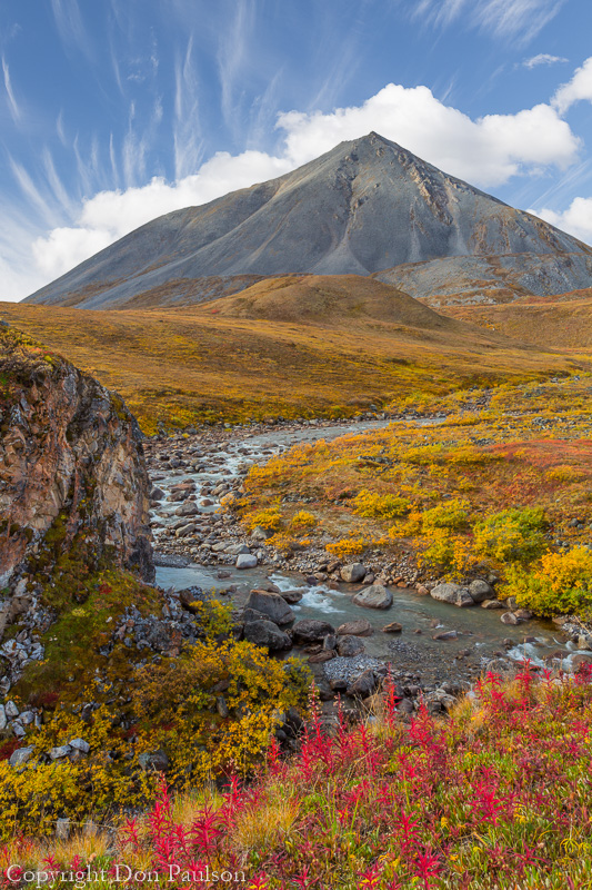 Alaska, Gates of the Arctic National Preserve, Brooks Range, Galbraith River