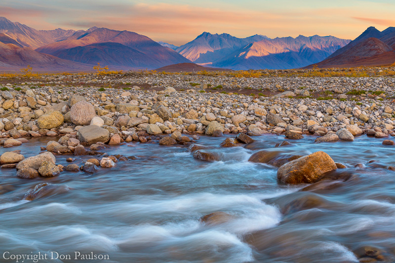 Alaska, Dalton Highway, Brooks Range, Galbraith River