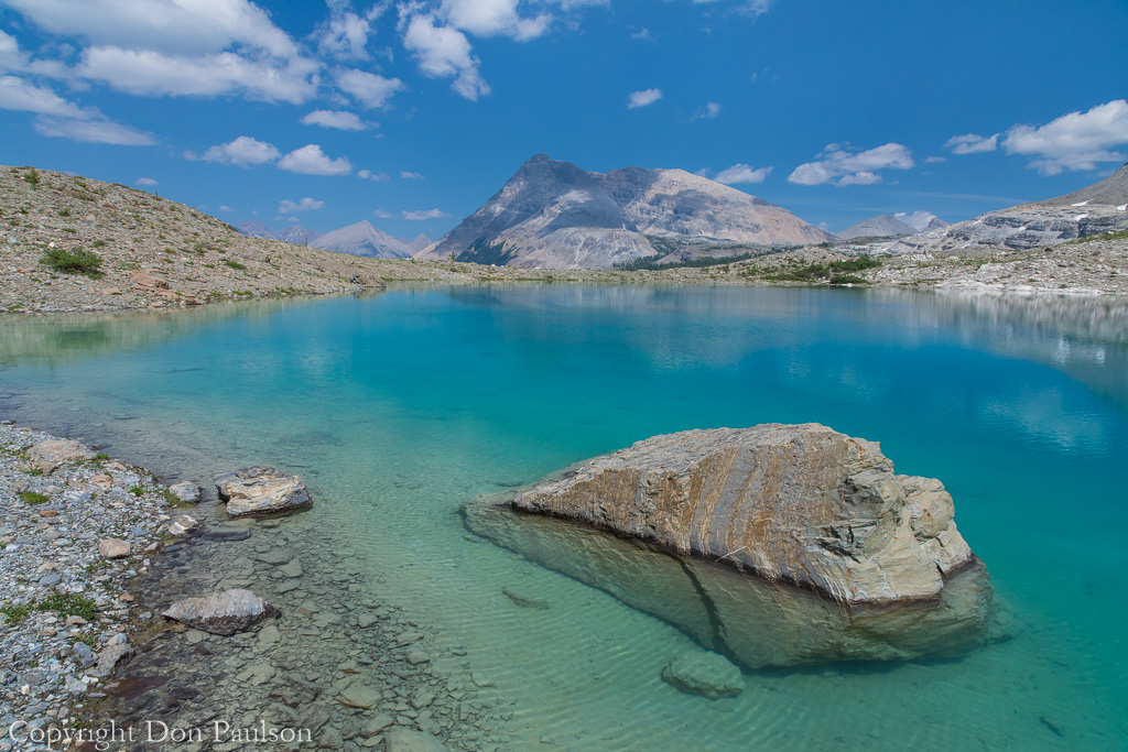 Upper Jewel Lake - Canada, Alberta, Rocky Mountains, East Kootenay Mountains