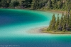 Canada, Yukon, Emerald Lake north of Carcross