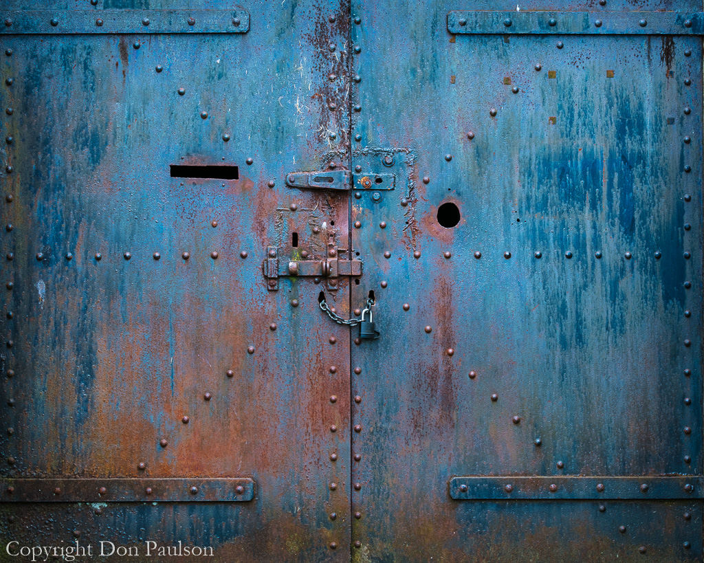 Steel doors, West Battery