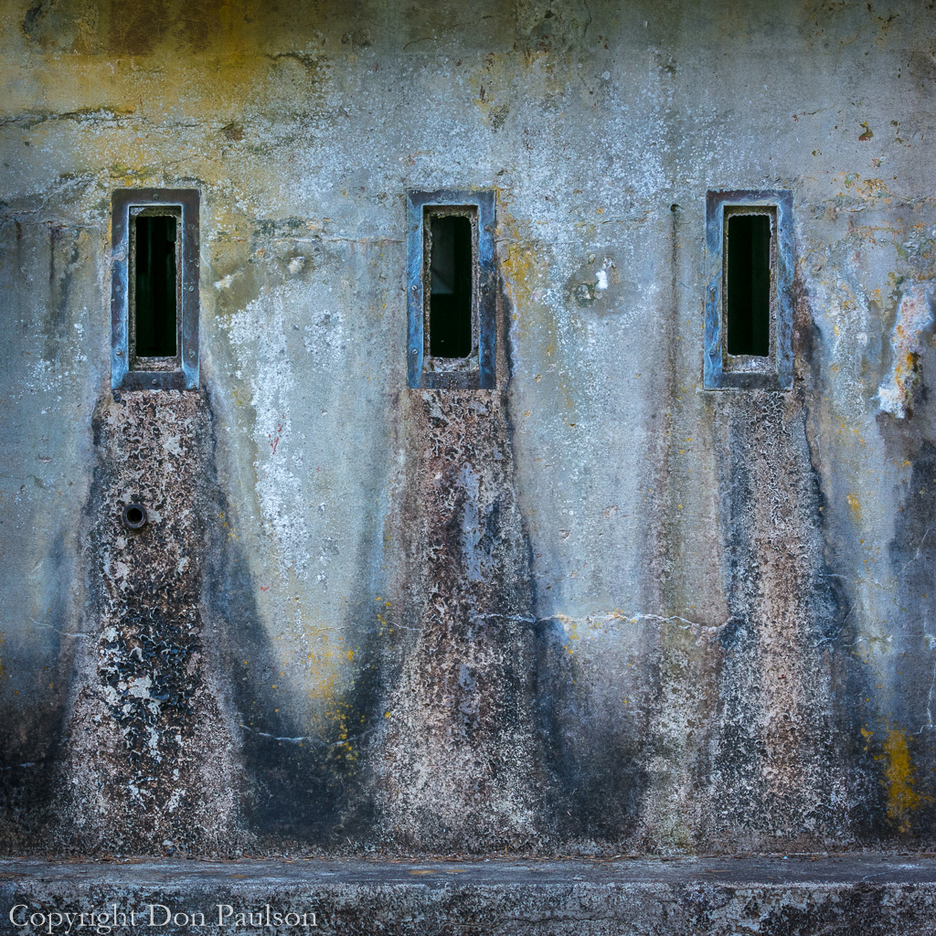 Abstract detail of West Battery