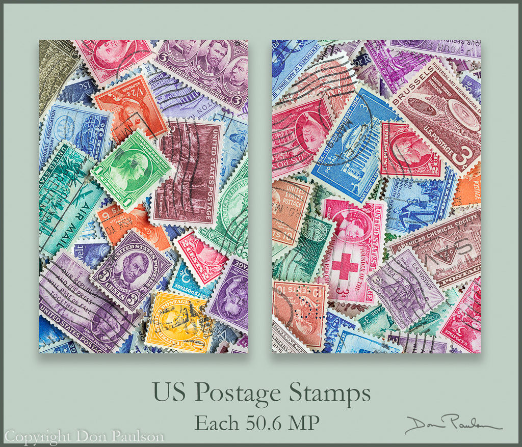 US Postage Stamp set of two