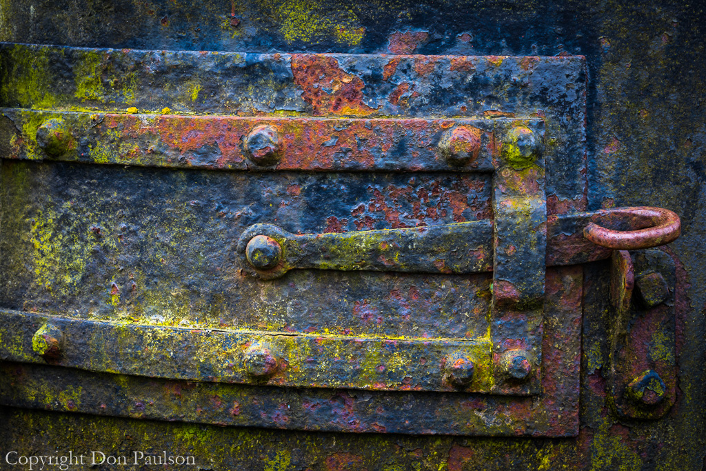 Boiler door