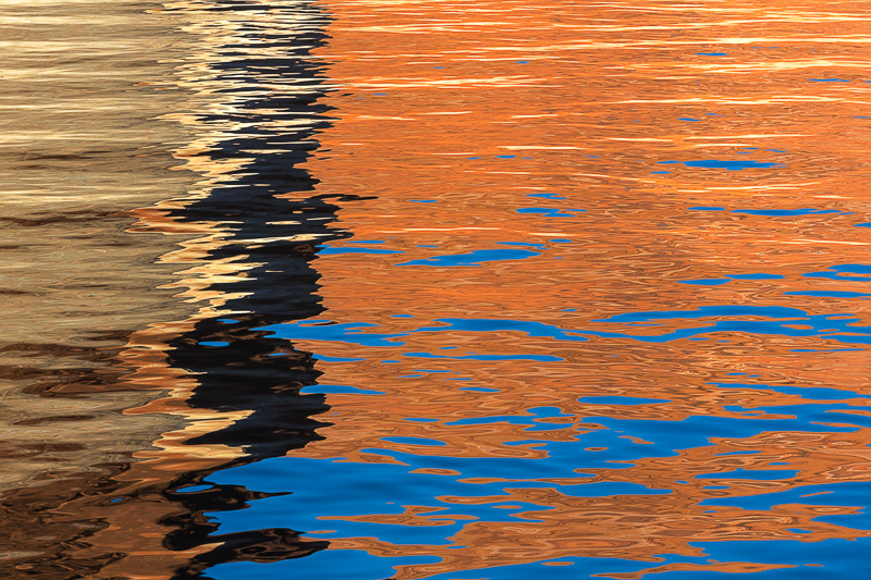 Colorful reflection, Lake Powell, Utah