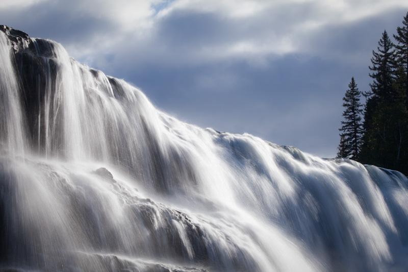 British Columbia; Wells Gray Provincial Park; Dawson Falls