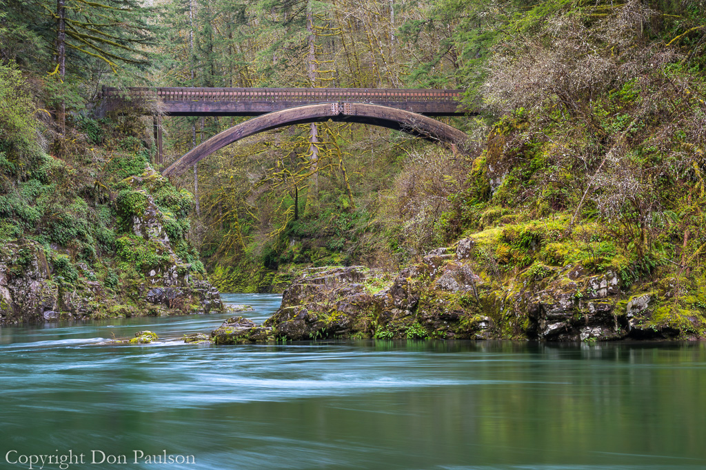 Washington, Moulton Falls Regional Park, East Fork of the Lewis River