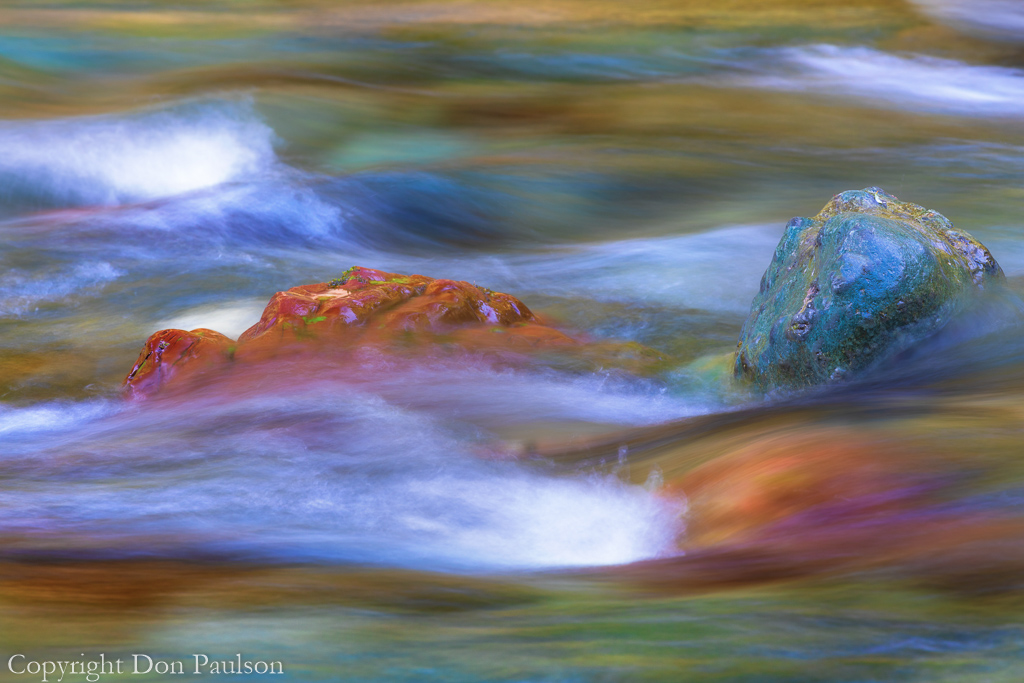 Colorful Skokomish River