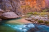 Virgin Narrows, Zion National Park, Utah