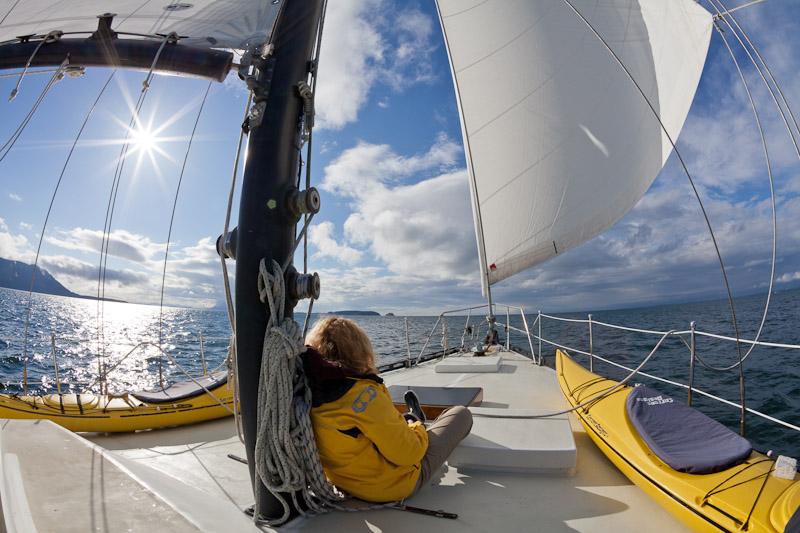Sailing on the S/V Nawalak