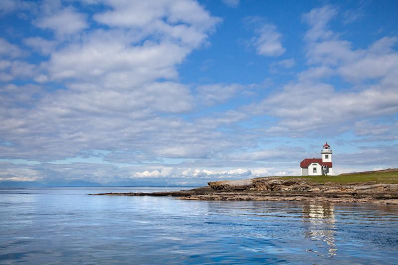Patos Island Lighthouse, San Juan Islands, Washington